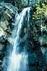 The Caledonian waterfall in the Troodos mountains is an interesting and refreshing stop